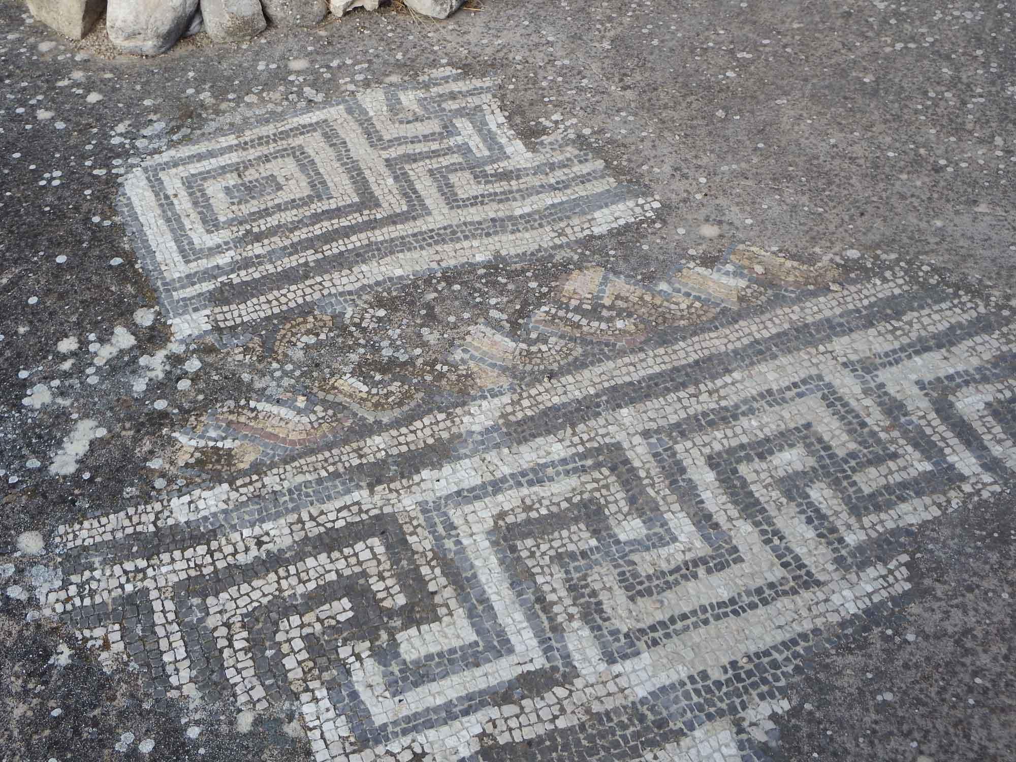 Mosaico de la Villa romana de Bruñel