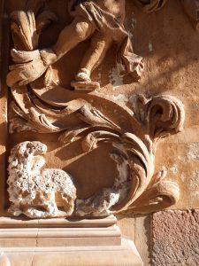 Detalles de la Fachada del Palacio de Guevara 2