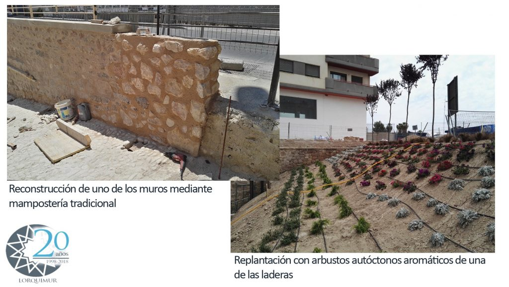 Recuperacion del entorno de la Fuente del Oro de Lorca