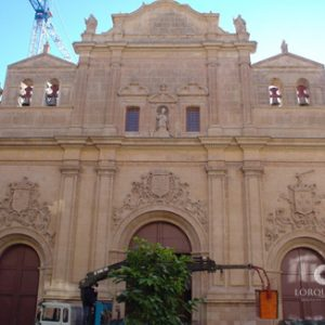 Reconstruccion Iglesia del Carmen Lorca