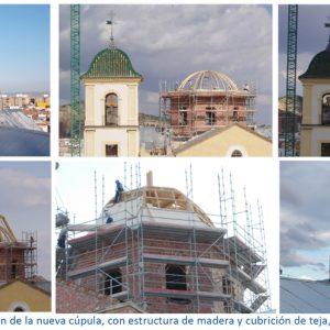 Reconstruccion Iglesia Santiago Lorca