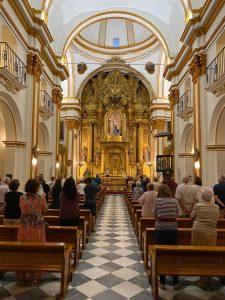 Interior Iglesia San Pero III